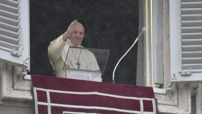 Paus dalam Angelus 27 Setember 2020