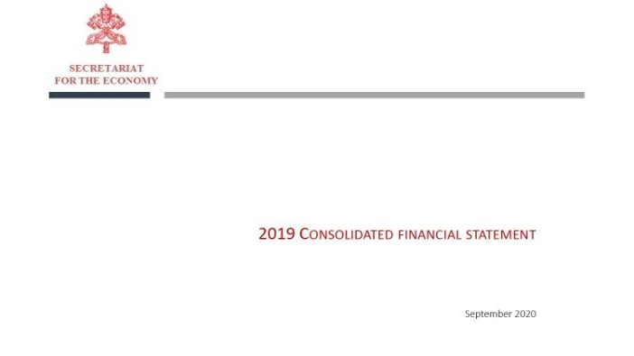 2019 consolidated financial statement