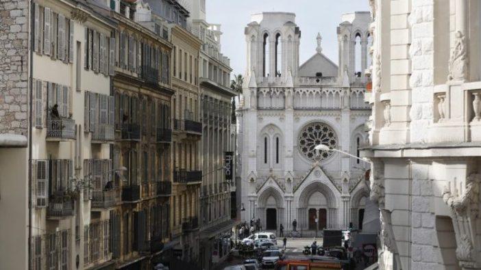 Basilika Notre Dame di Nice, Prancis (ANSA)