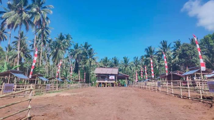 Lahan agrowitasa paroki dan stasi-stasi (Foto Komsos Keuskupan Manado)