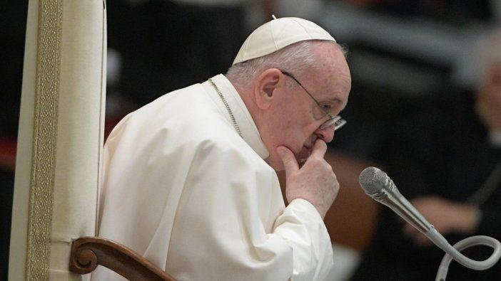 Paus Fransiskus dalam audiensi umum 28 Oktober