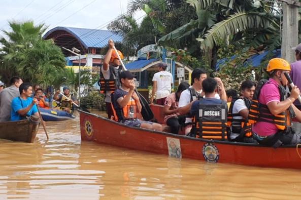 Banjir di Ilagan City, Isabela. ILAGAN CITY PIO