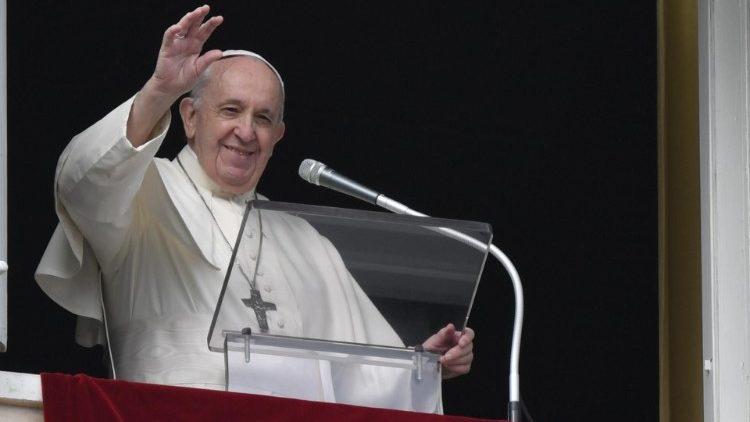 Paus Fransiskus dalam Angelus 29 November 2020 (Vatican Media)