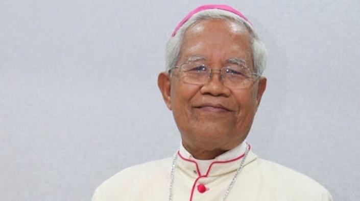 Mgr Anicetus Sinaga OFMCap (Foto Kawali)