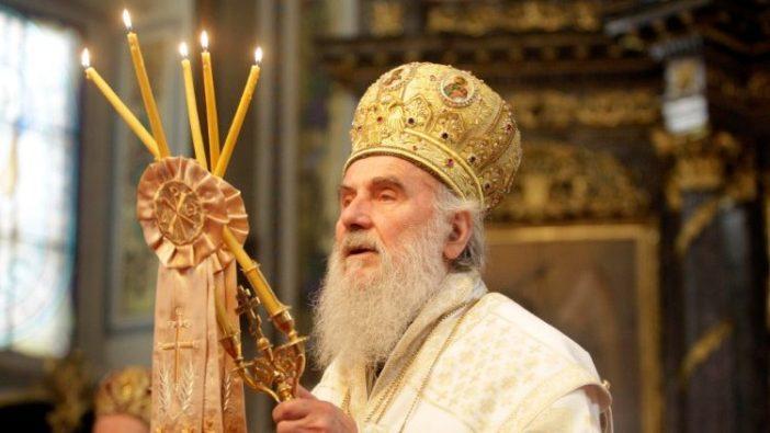 Patriark Ortodoks Serbia Irinej (ANSA)
