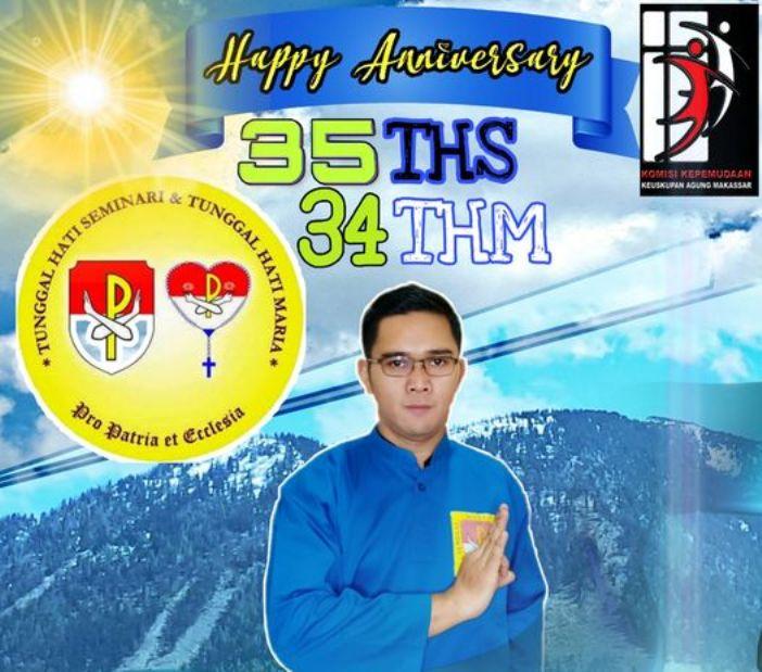 Pastor Al Tandirassing Pr, Ketua Komisi Kepemudaan Keuskupan Agung Makassar dan Moderator THS-THM Distrik Makassar