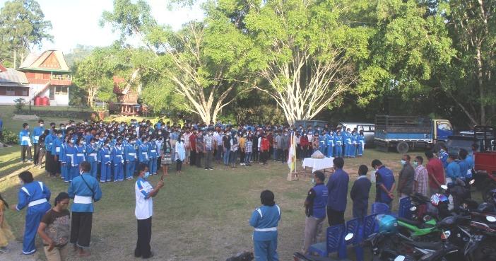 Suasana HUT di Toraja