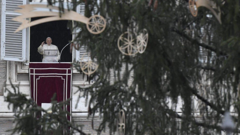 Paus dalam Angelus (Vatican Media)