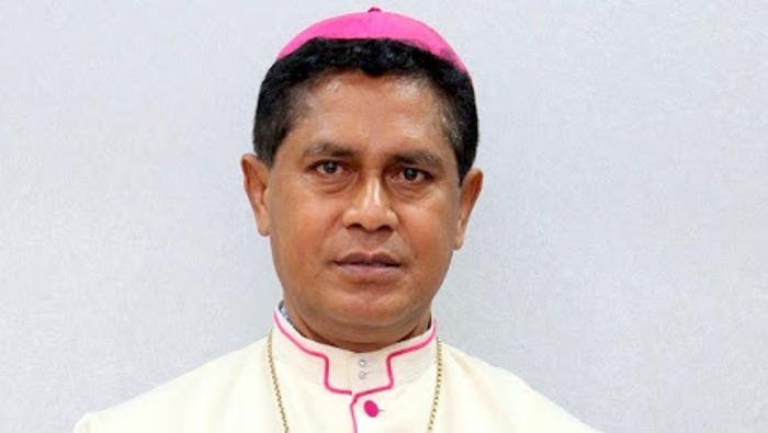 Ketua Komisi Kerawam KWI  Mgr Vincensius Sensi Potokota (Foto Kawali)