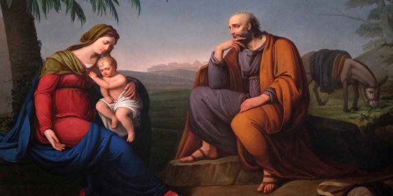 Keluarga Kudus, Yosef, Maria dan Yesus. Zvonimir Atletic | Shutterstock