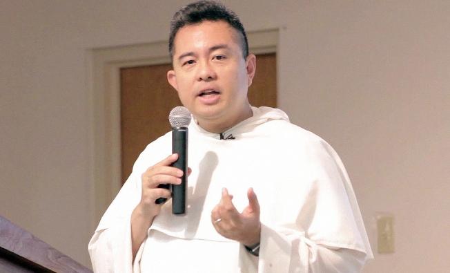 Pastor Nicanor Austriaco OP (Screenshot dari Youtube Seminari Santo Carolus Borromeus)