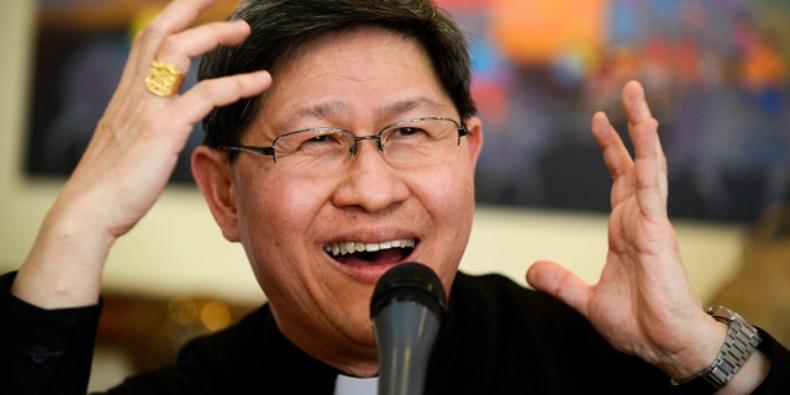Kardinal Tagle (Foto Noel Celis/AFP)
