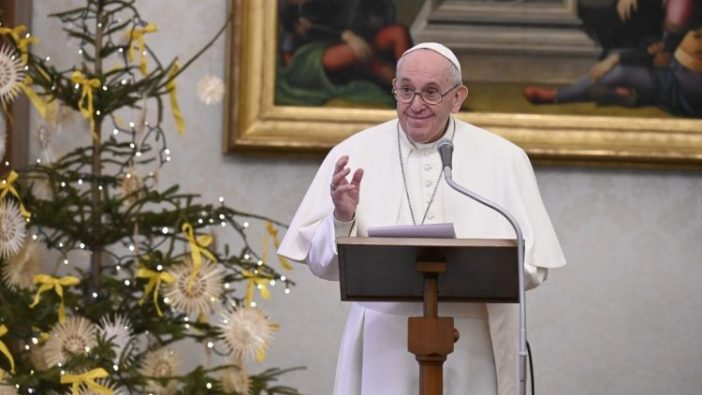 Paus Fransiskus dalam Angelus (Vatican Media)