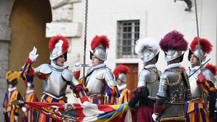 Swiss Guard di Vatikan (Vatican Media)