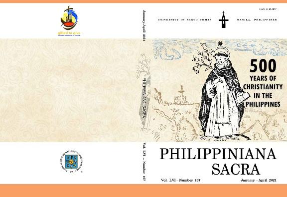 Cover jurnal edisi khusus 500 Tahun Agama Kristen di Filipina