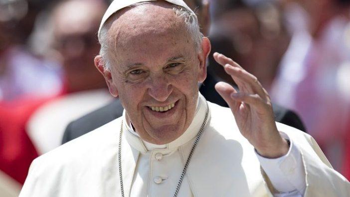Foto file dari Paus Fransiskus
