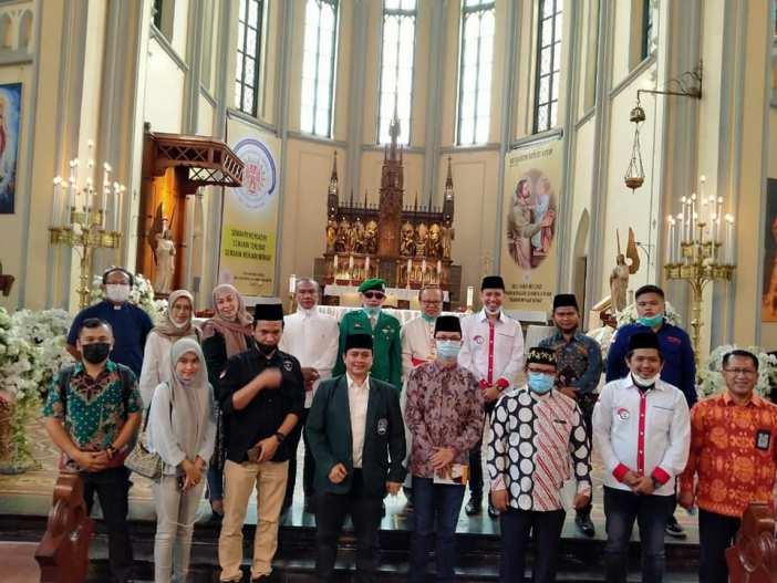 Kunjungan Orang Muda Muslim ke Katedral di Hari Persaudaraan Manusia Internasional (Ist)