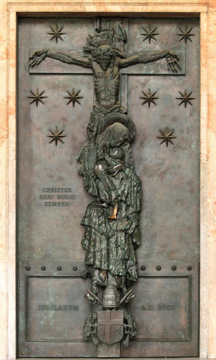 Santo Yohandes Lateran: Detail Pintu Suci Yubileum Tahun 2000 © Krzysztof Slusarczyk | Shutterst