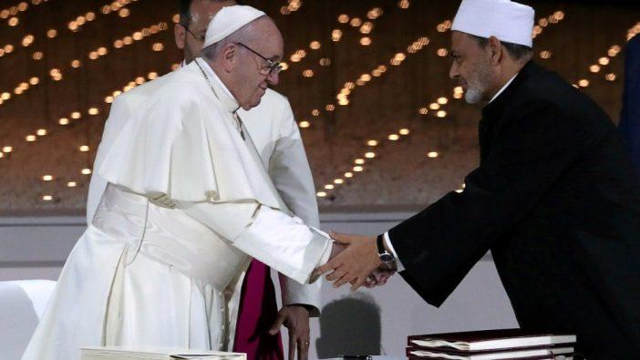 Paus Fransiskus dan Imam Besar, Ahmad Al-Tayyeb