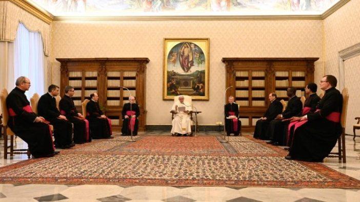 Paus dalam Audiensi Umum 10 Februari 2021 (Vatican Media)