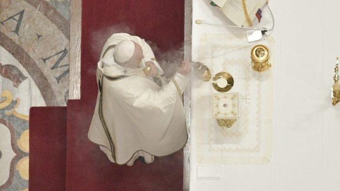 Paus pimpin Misa Hari Doa Hidup Bakti (vatican Media)