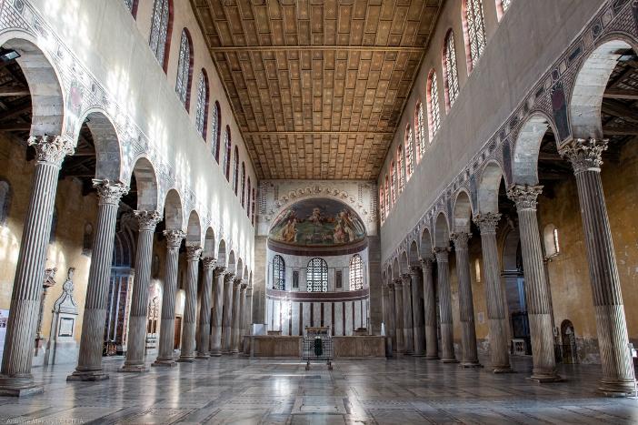 Basilika Santa Sabina (interior). © Antoine Mekary | ALETEIA
