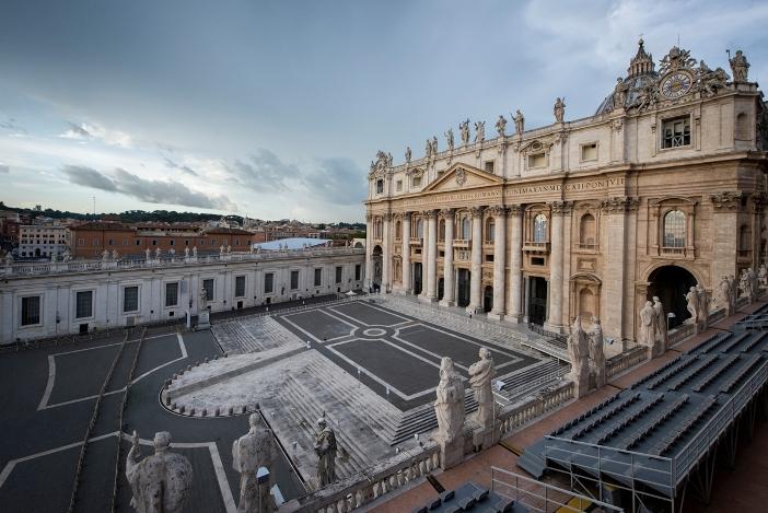 Basilika Santo Petrus (bagian depan) © Antoine Mekary | ALETEIA