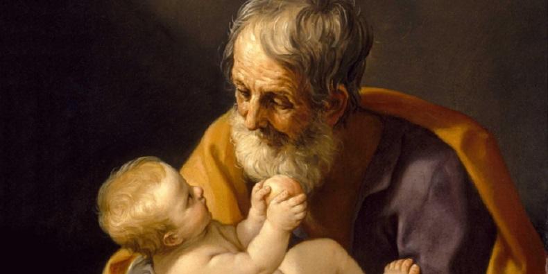 Santo Yosef dan Anak Yesus/Wiki/Guido Reni