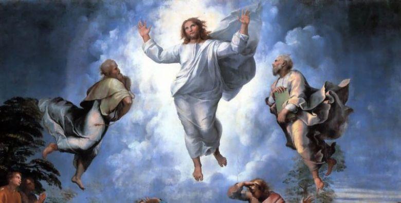 Transfigurasi karya Raphael di Museum Vatikan