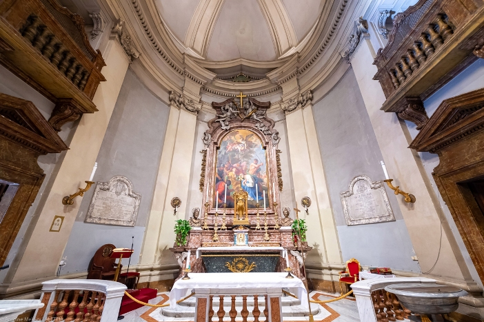 Apse Basilika Santo Marselinus dan Santo Petrus - Basilika Santo Marselinus dan Santo Petrus adalah milik Kementerian Dalam Negeri Italia. © Antoine Mekary | ALETEIA