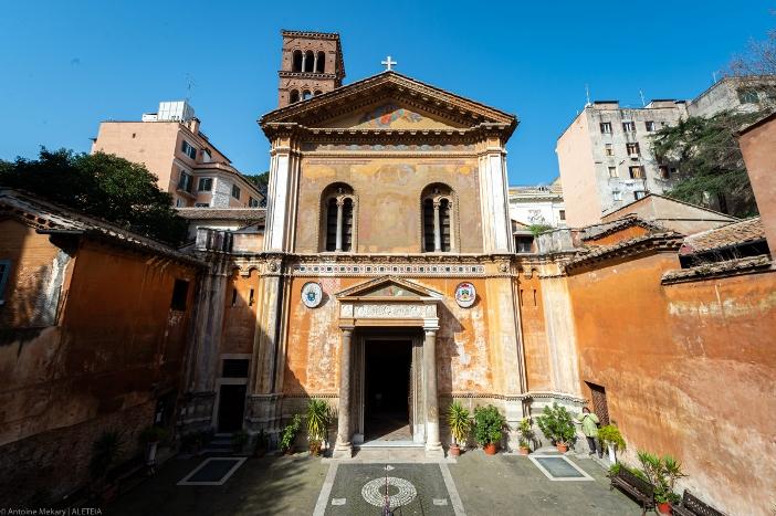 Basilika Santa Pudenziana al Viminale. Basilika Santa Pudenziana al Viminale adalah milik Kementerian Dalam Negeri Italia. © Antoine Mekary | ALETEIA