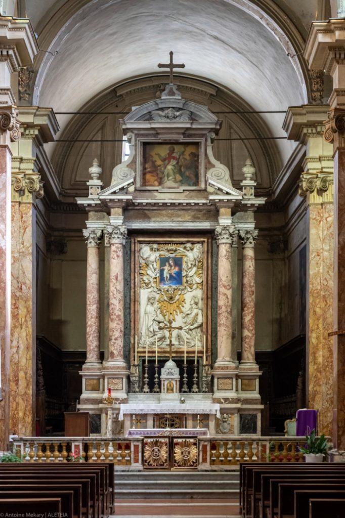 Basilika Santo Eusebius di Esquiline (apse). Basilika Santo Eusebius di Esquiline milik Kementerian Dalam Negeri Italia © Antoine Mekary | ALETEIA