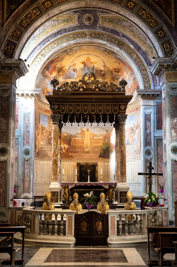 Basilika Santo Nikolas di Carcere (apse) © Antoine Mekary | ALETEIA