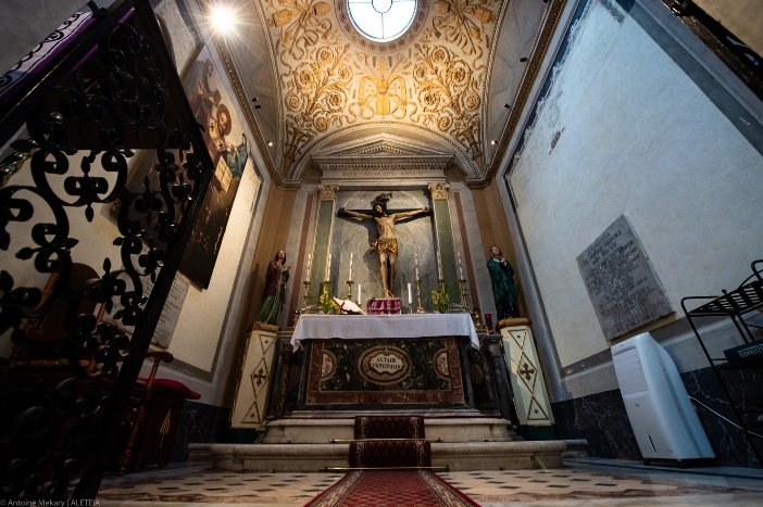Basilika Santo Nikolas di Carcere. Kapel Salib. © Antoine Mekary | ALETEIA