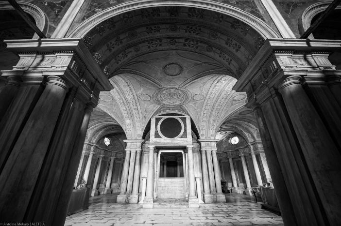 Basilika Santo Sylvester dan Martinus ai Monti (ruang bawah tanah). Basilika Santo Sylvester dan Martinus ai Monti milik Kementerian Dalam Negeri Italia © Antoine Mekary | ALETEIA