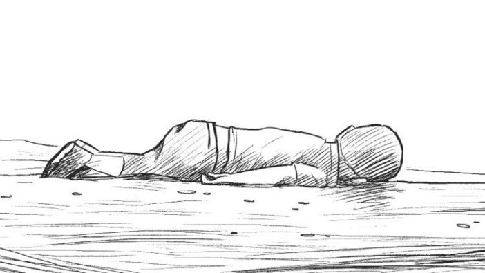 Gambar Alan Kurdi oleh Lukesure