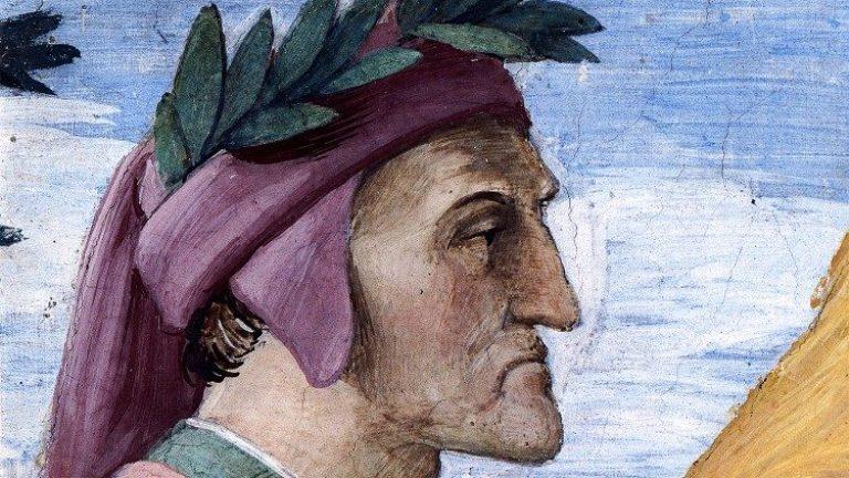 Gambar wajah Dante Alighieri oleh Raphael (FOTO © GOVERNATORATO SCV - DIREZIONE MUSEI VATICANI)