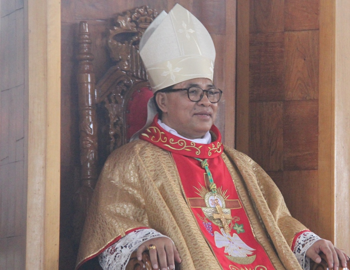 Uskup Ruteng Mgr Siprianus Hormat (PEN@ Katolik/paul c pati)
