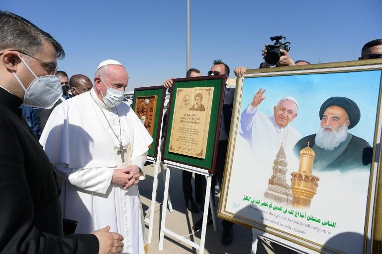 Paus dan Ayatollah Sayyid Ali Al-Husayni Al-Sistani 1