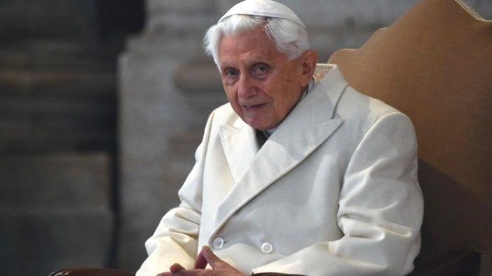 Paus Emeritus Benediktus XVI (AFP)
