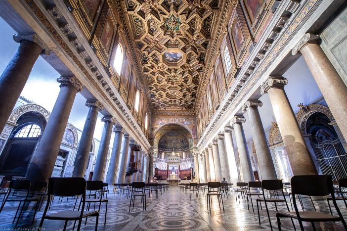 Basilika Santa Maria di Trastevere (interior) © Antoine Mekary | ALETEIA