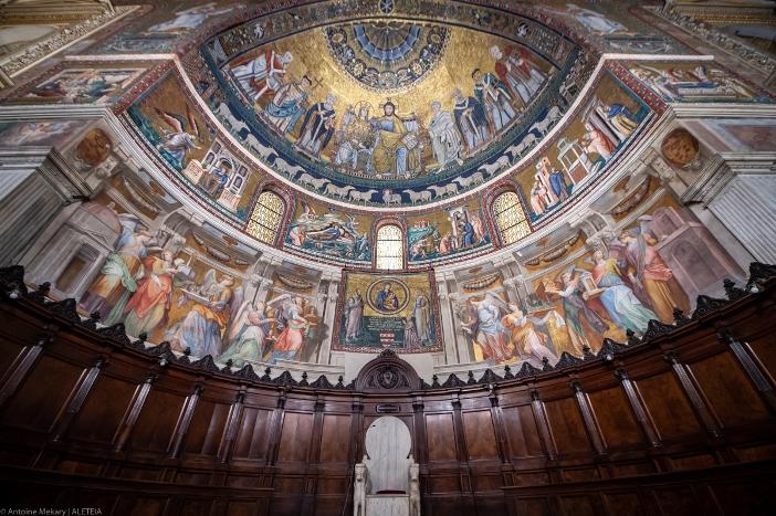 Santa-Maria-in-Trastevere-Antoine-Mekary-ALETEIA-AM_7444