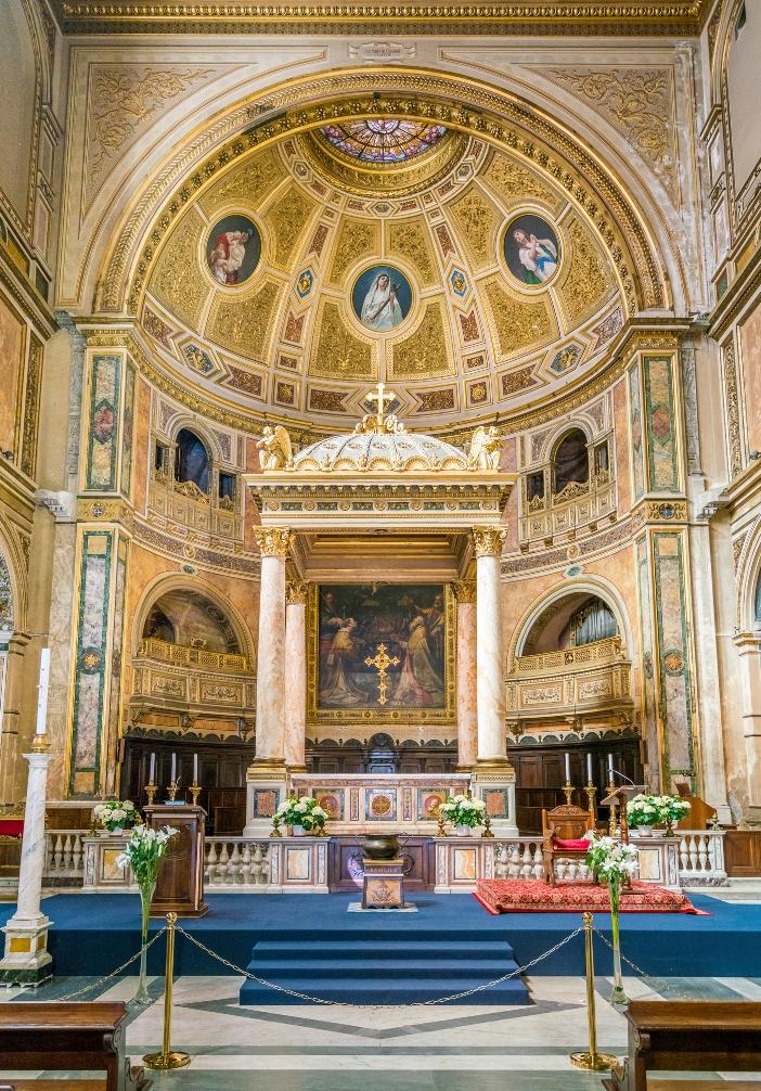 Basilika Santo Laurensius di Damaso (apse) © Stefano_Valeri   Shutterstock