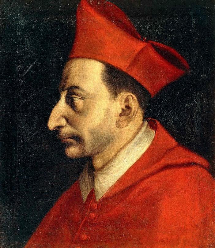 Potret abad ke-16 Carolus Borromeus oleh Giovanni Figino. © Domain Publik
