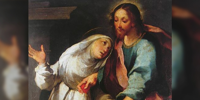 """""""Semua jalan menuju surga adalah surga, karena Yesus berkata, 'Akulah jalan.'"""" © Ventura Salimbeni   Domain publik"""