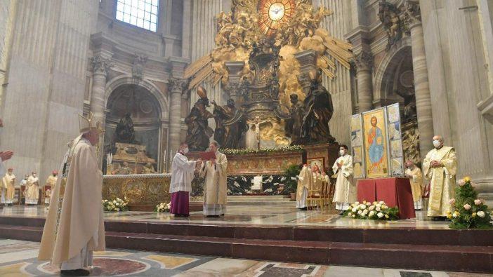 Misa Paskah Paus 1
