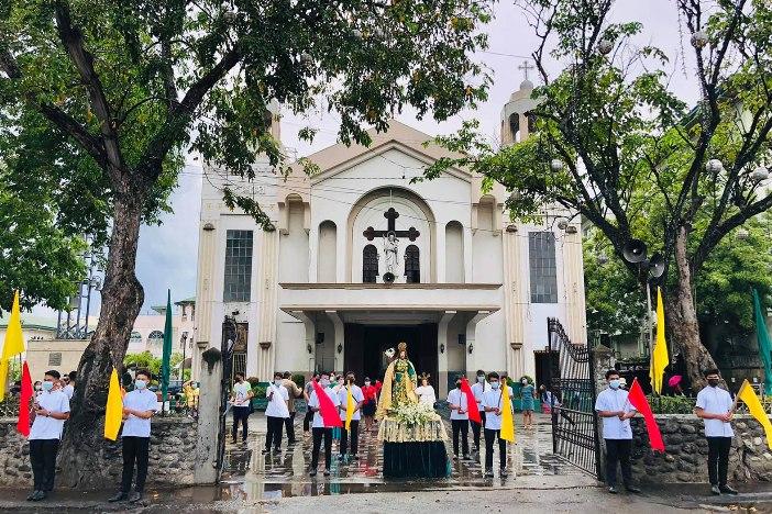 Tempat Ziarah Nasional Santo Yosef di Kota Mandaue, Cebu. FOTO DARI NSSJ