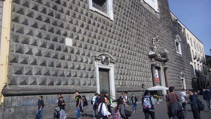 Bagian depan Gereja Gesù Nuovo © Foto milik Bret Thoman
