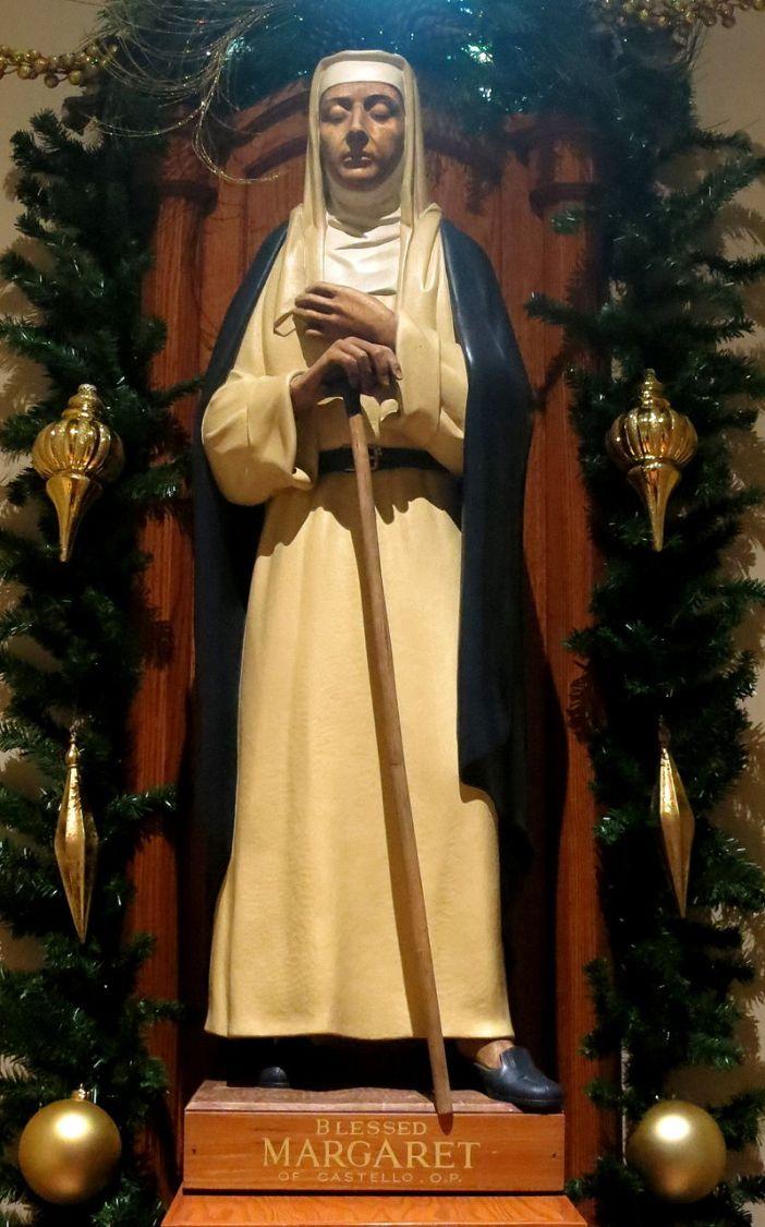 Saint_Patrick_Catholic_Church_(Columbus,_Ohio)_-_Blessed_Margaret_of_Castello_statue