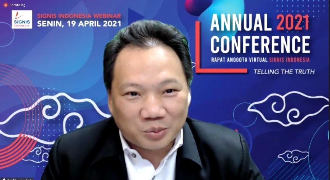 Swkretaris Eksekutif Komisi Komsos KWI Pastor Steven Lalu Pr